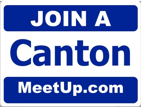 Join a Canton sign